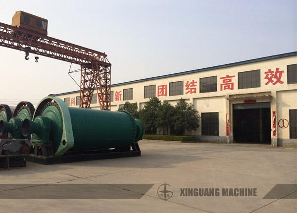 Ball Mill in Xinguang Yard